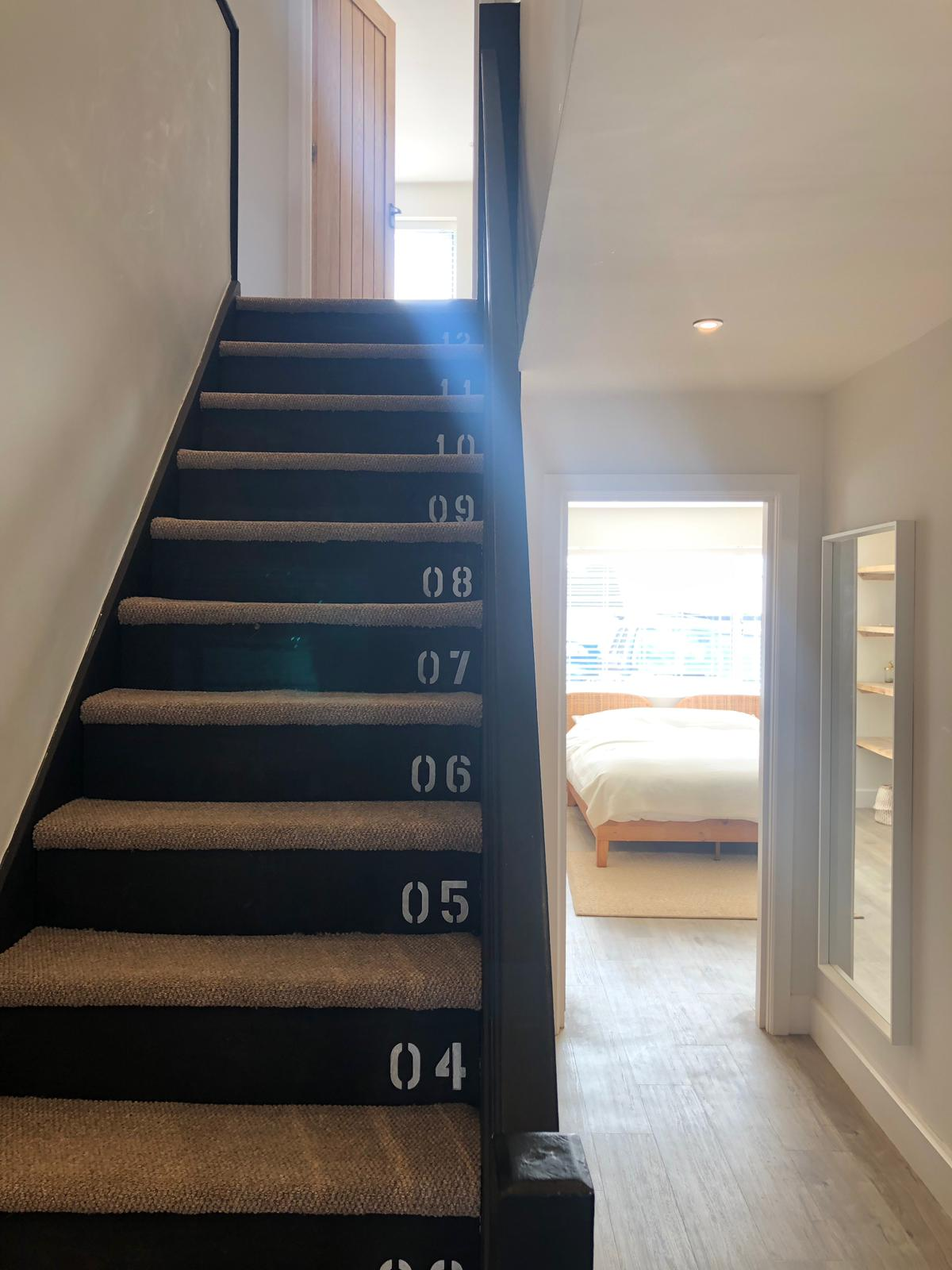 The Nautical Numbered Stairs