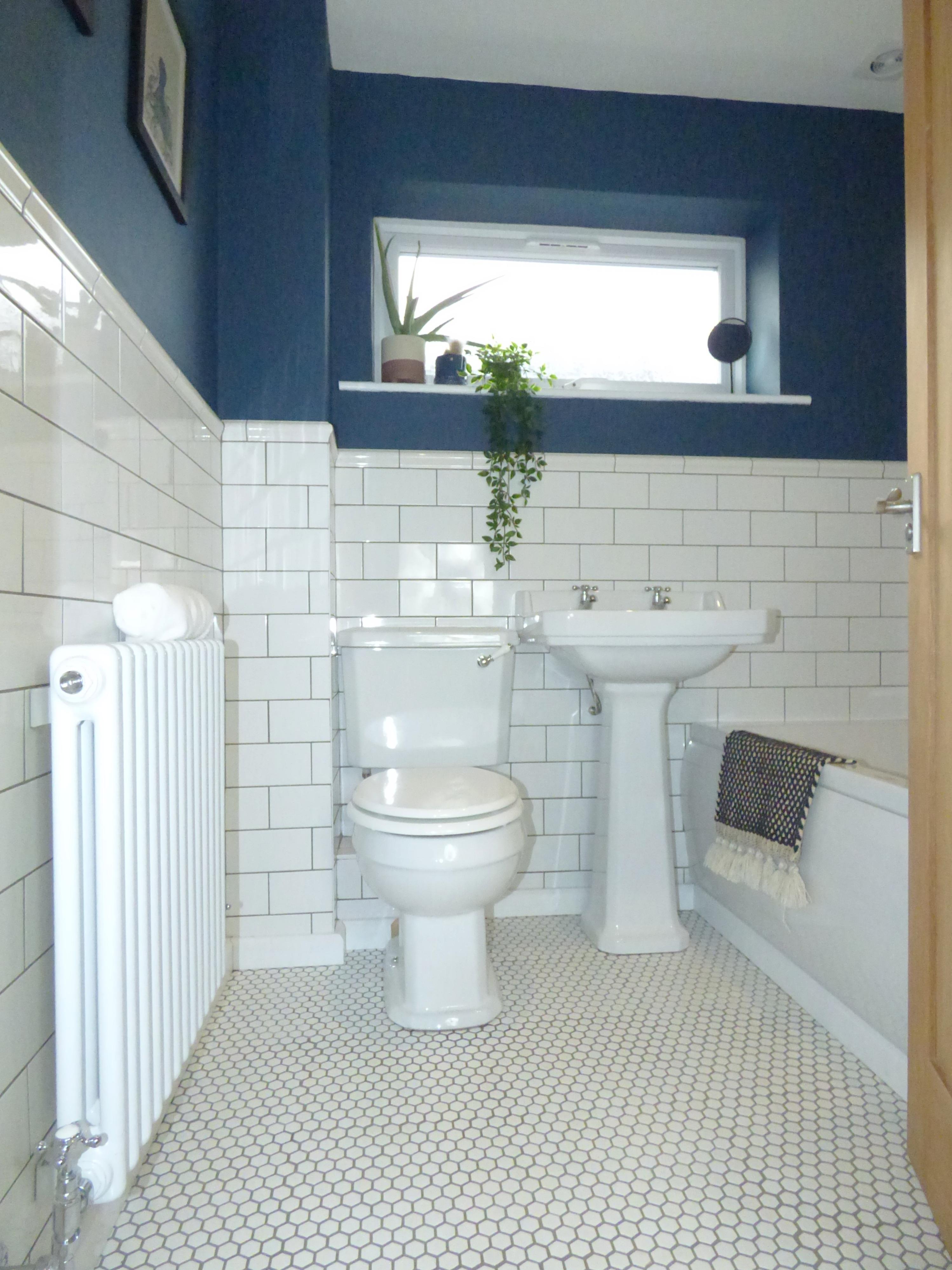 Main Bathroom - Downstairs (Shower and Bath)