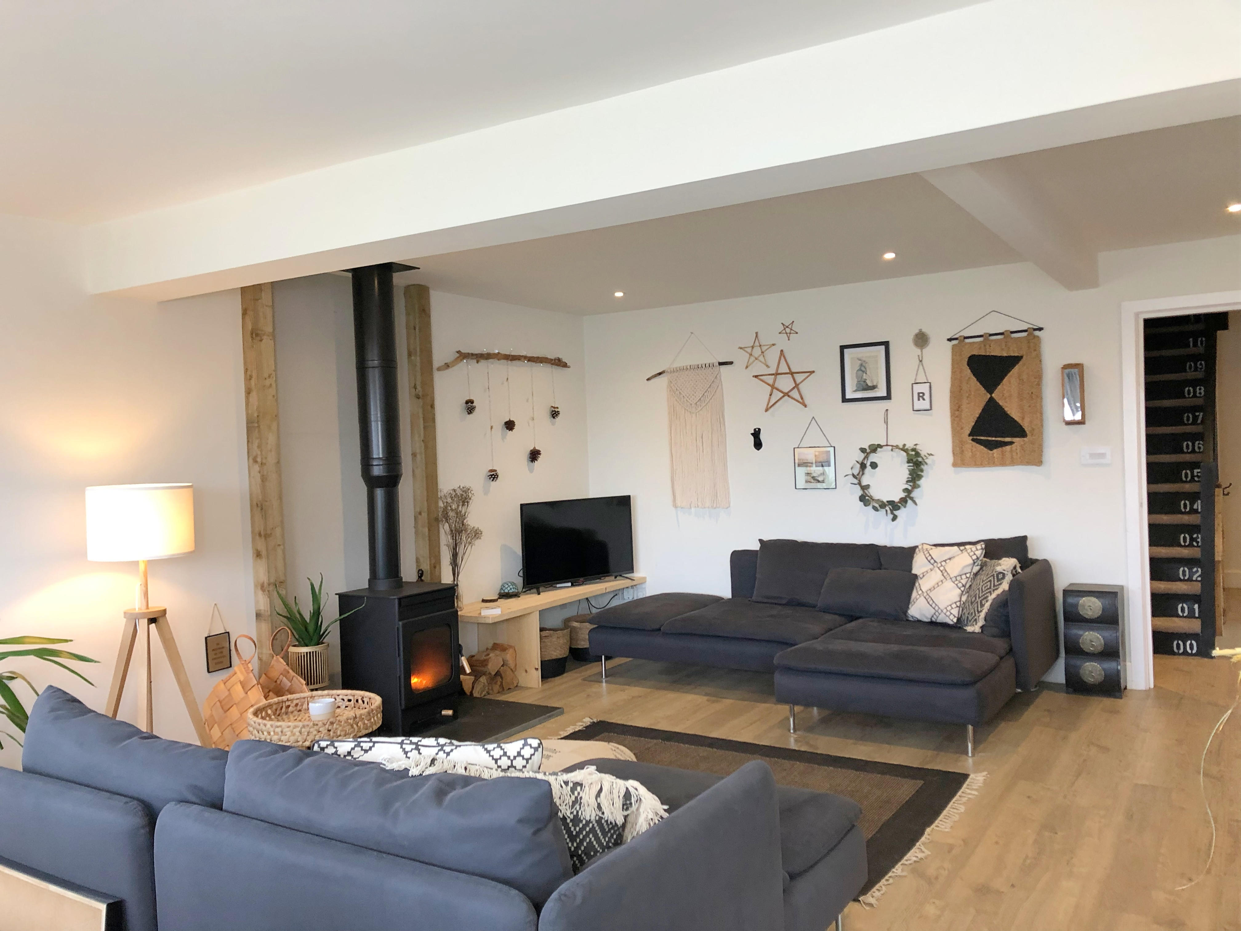 Living Room - Loads of comfy seats, Woodburner, smart TV, BT, Netflix, Amazon etc.
